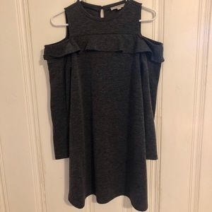 Loft - Grey Cotton Dress - XS
